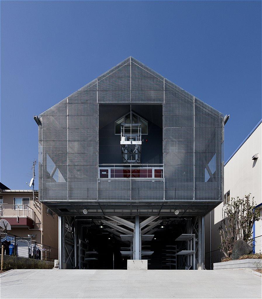 東京工業大学 (戸田) 艇庫